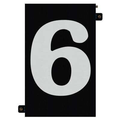 5 in. Modular LED Illuminated House Number 6