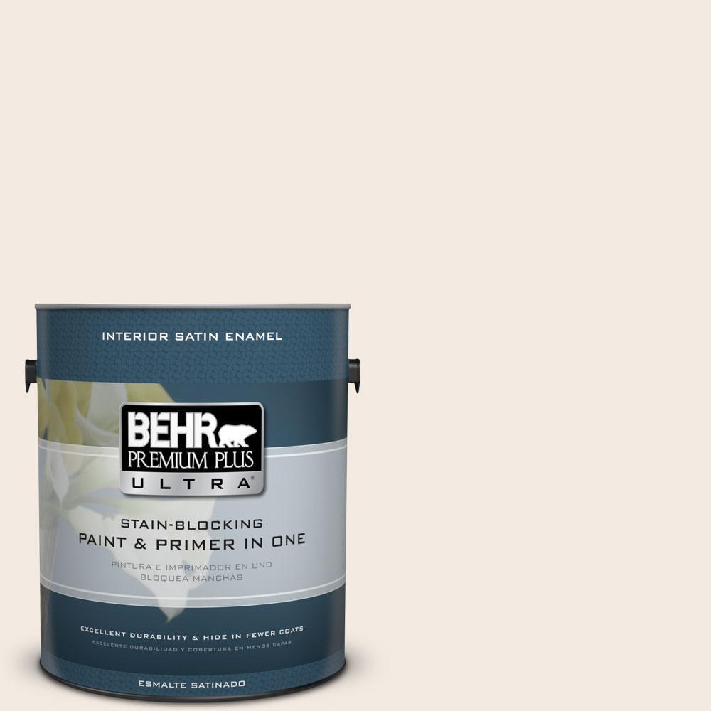 1 gal. #12 Swiss Coffee Satin Enamel Interior Paint and Primer