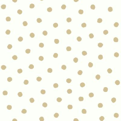Dot Vinyl Peelable Wallpaper (Covers 28.18 sq. ft.)