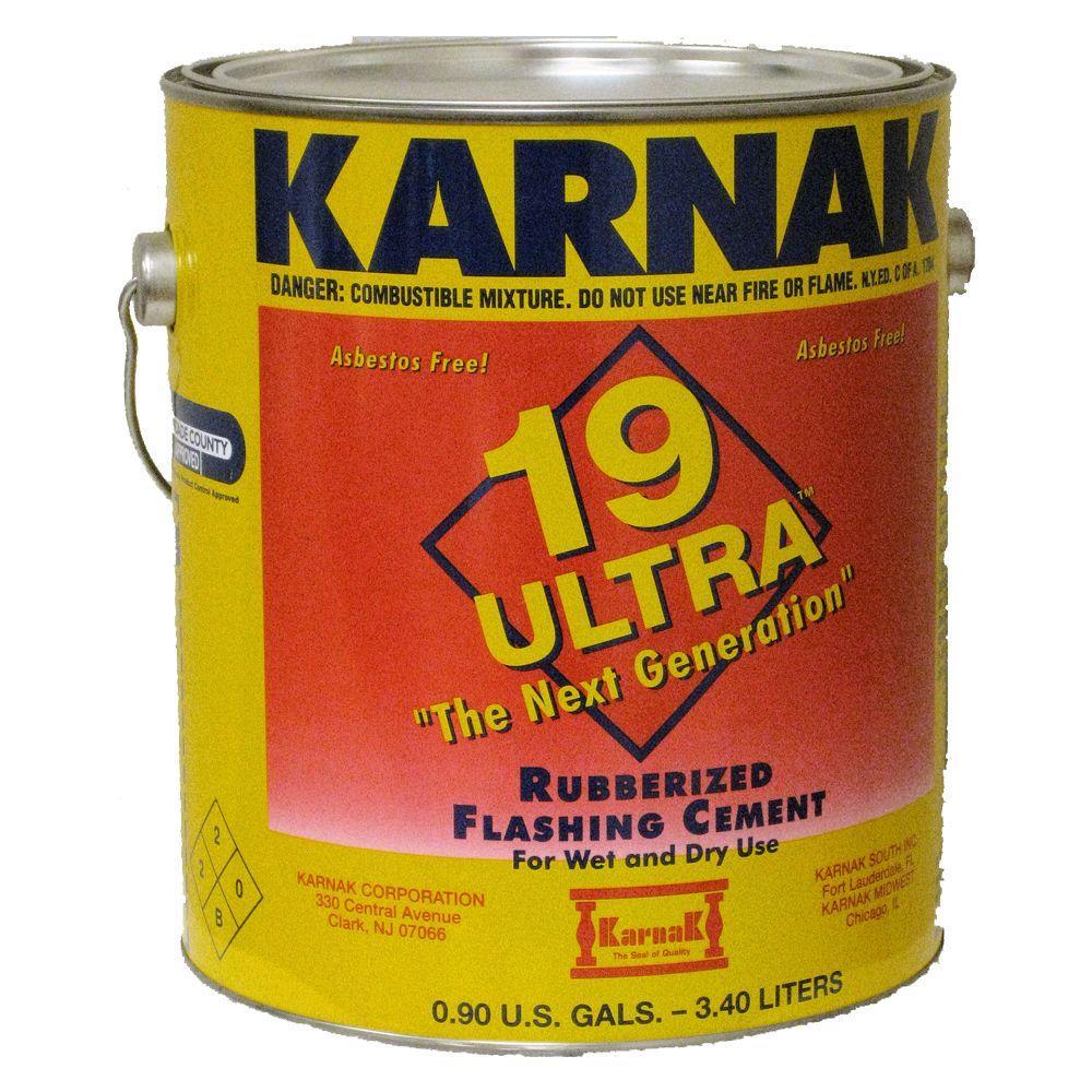 Karnak Ultra 0 90 Gal Rubberized Flashing Asphalt Roof