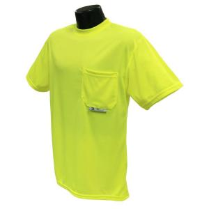 Radians CL 2 Tshirt with Moisture Wicking green 5X Safety Vest by Radians