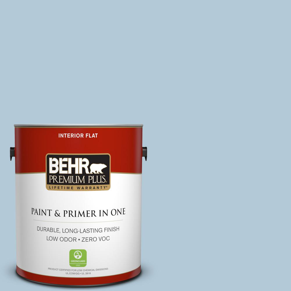 1 gal. #HDC-CT-16A English Hollyhock Zero VOC Flat Interior Paint