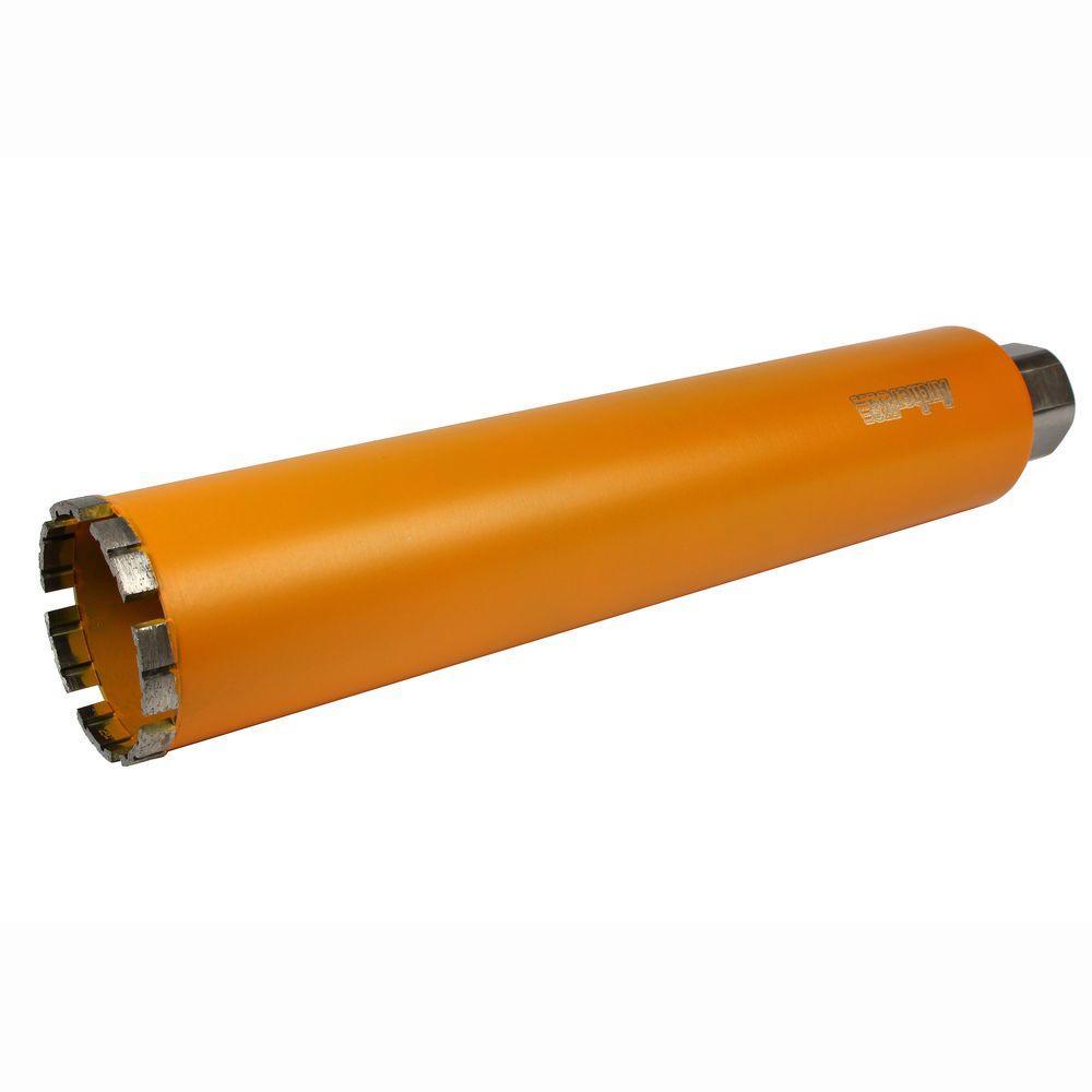 3 in. Diamond Turbo Core Drill Bit for Concrete Drilling
