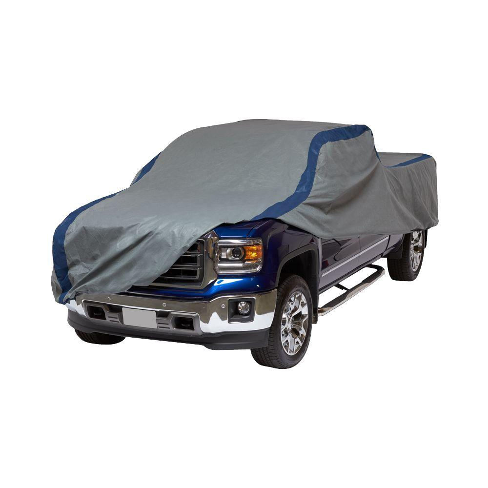Duck Covers Weather Defender Extended Cab Short Bed Semi Custom Pickup Truck Cover Fits Up