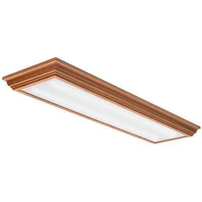 Cambridge 4 ft. Oak LED Flush Mount