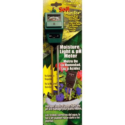 Soil Master ML1240 Light, pH and Moisture Meter