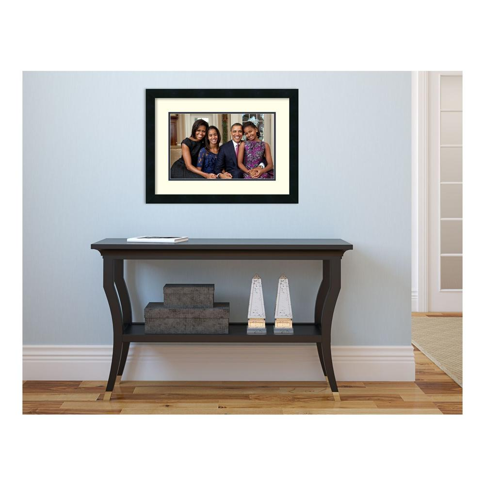 "17 in. H x 23 in. W ""The First Family"" Framed"
