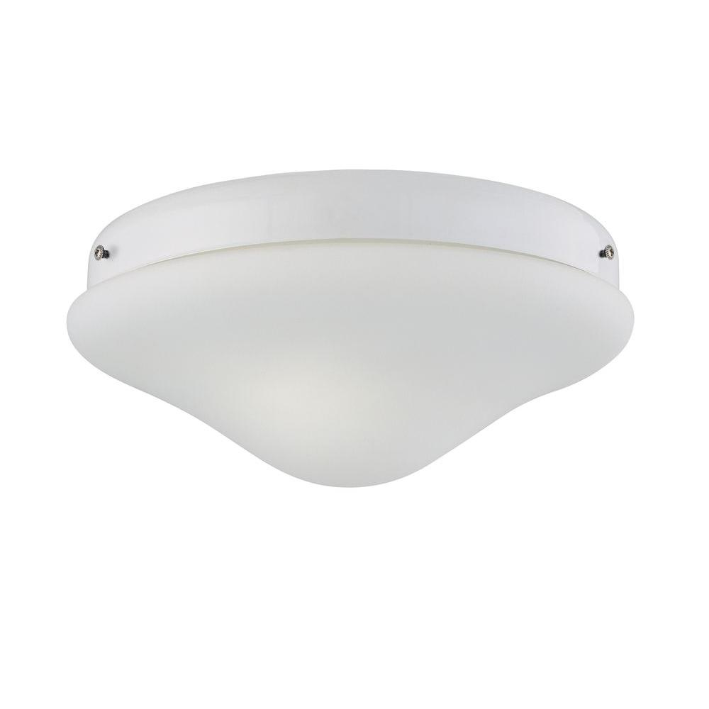 Ceiling fan light kits ceiling fan parts the home depot 2 light white ceiling fan light kit arubaitofo Image collections