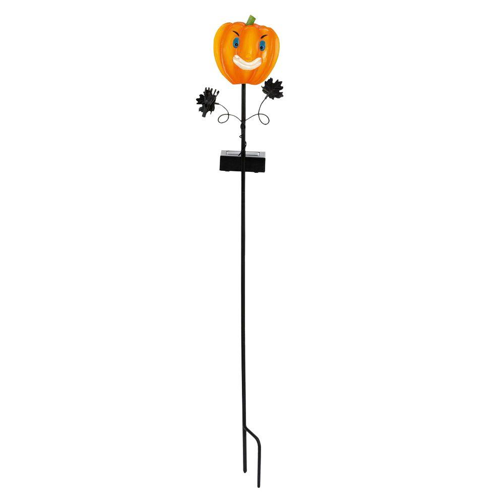 Eglo Solar LED Multi-Color Outdoor Pumpkin Stake Light