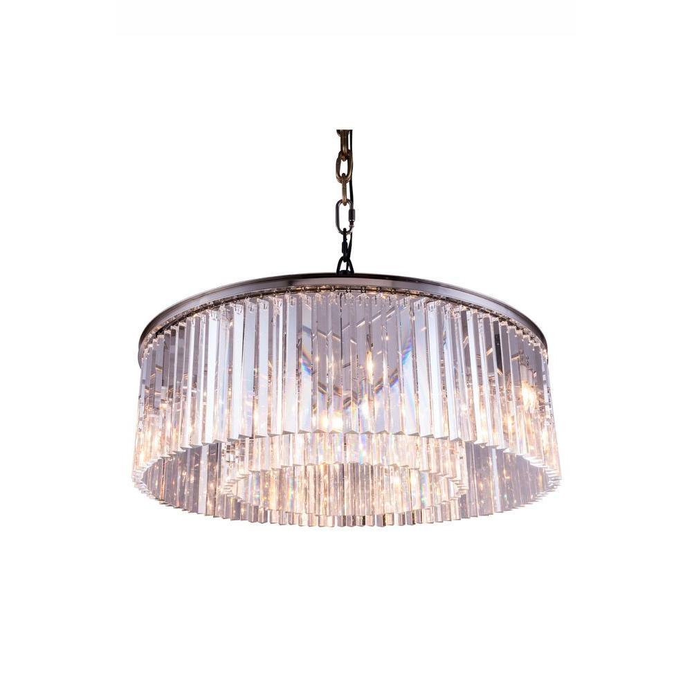 Light Warehouse Sydney: Elegant Lighting Sydney 10-Light Polished Nickel