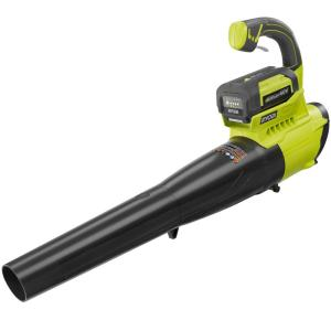 Ryobi Reconditioned 155 MPH 300 CFM 40-Volt Lithium-Ion Cordless Jet Fan Blower - 2.6 Ah Battery and Charger... by Ryobi