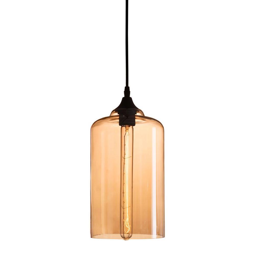 Bismite 1-Light Tea Ceiling Lamp