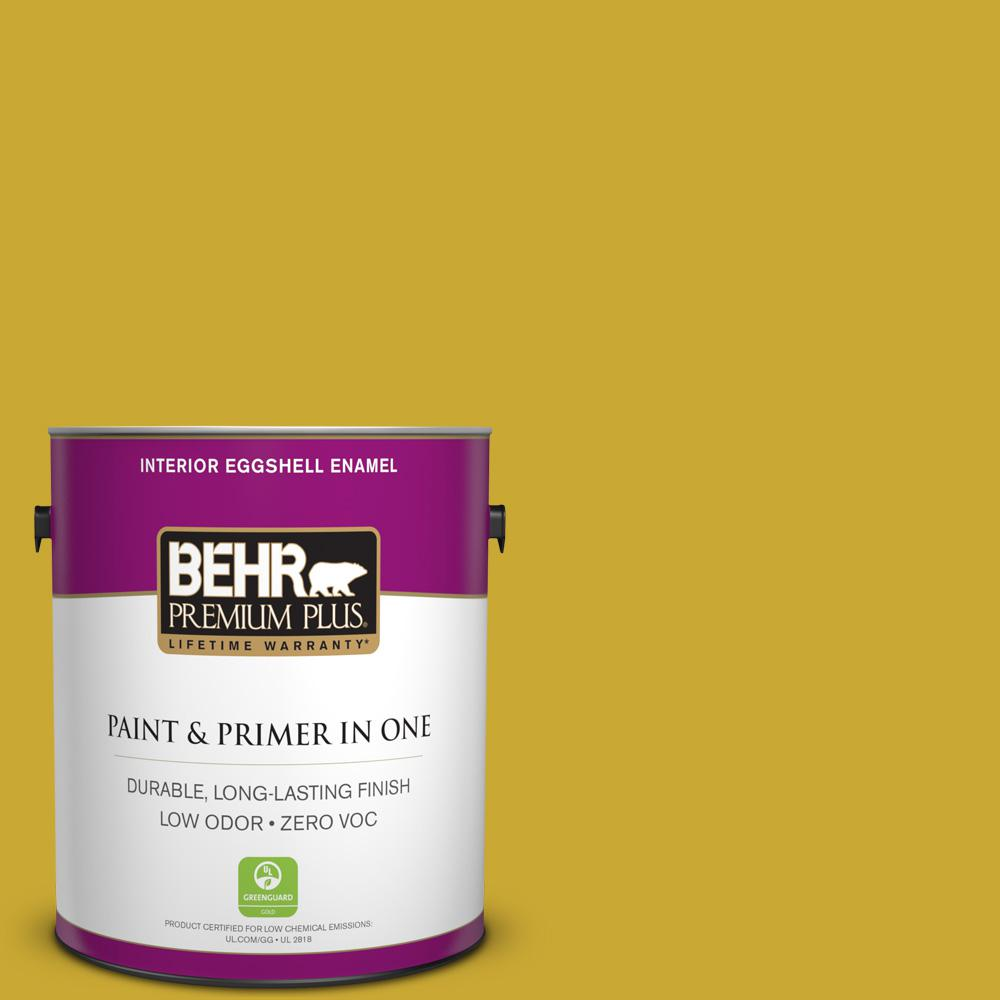 BEHR Premium Plus 1-gal. #P320-7 Sweet and Sour Eggshell Enamel Interior Paint