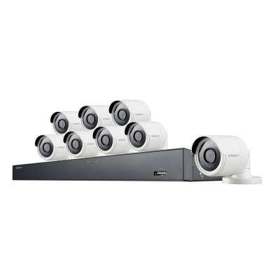 16-Channel 4M 2TB DVR Serveillance System with 8-Wired Bullet Cameras
