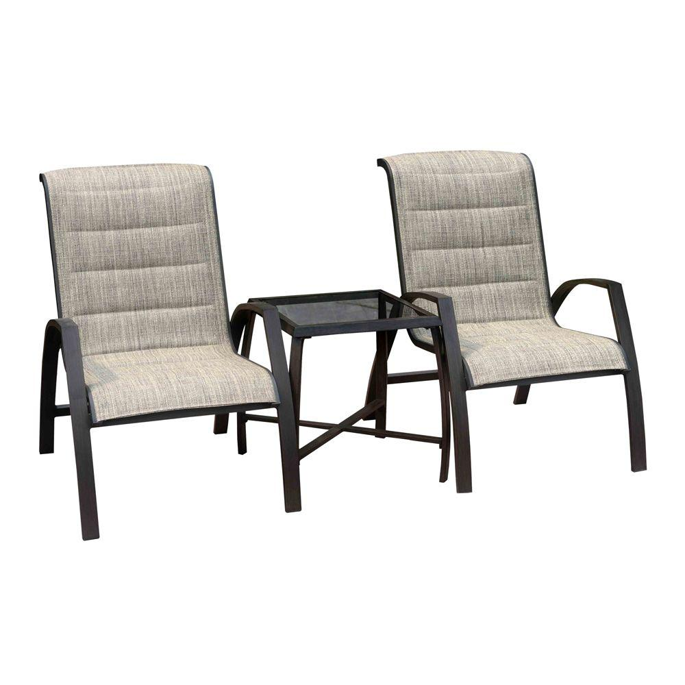 Sunjoy Scotia 3 -Piece Patio Bistro Set