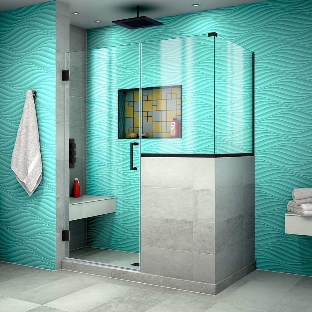 Delta 36 In X 48 In X 72 In Frameless Sliding Shower