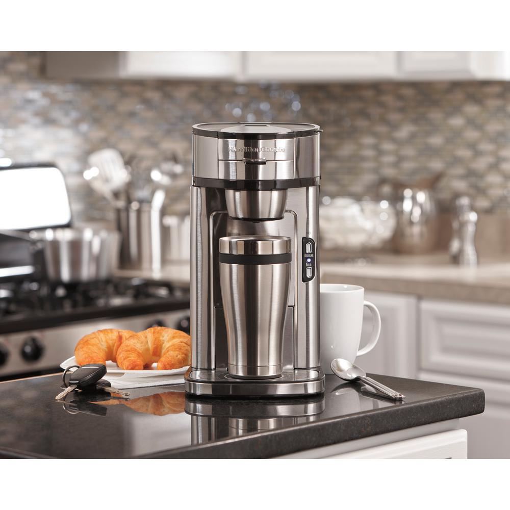 Hamilton Beach Single Serve Coffee Maker 49981 The Home Depot