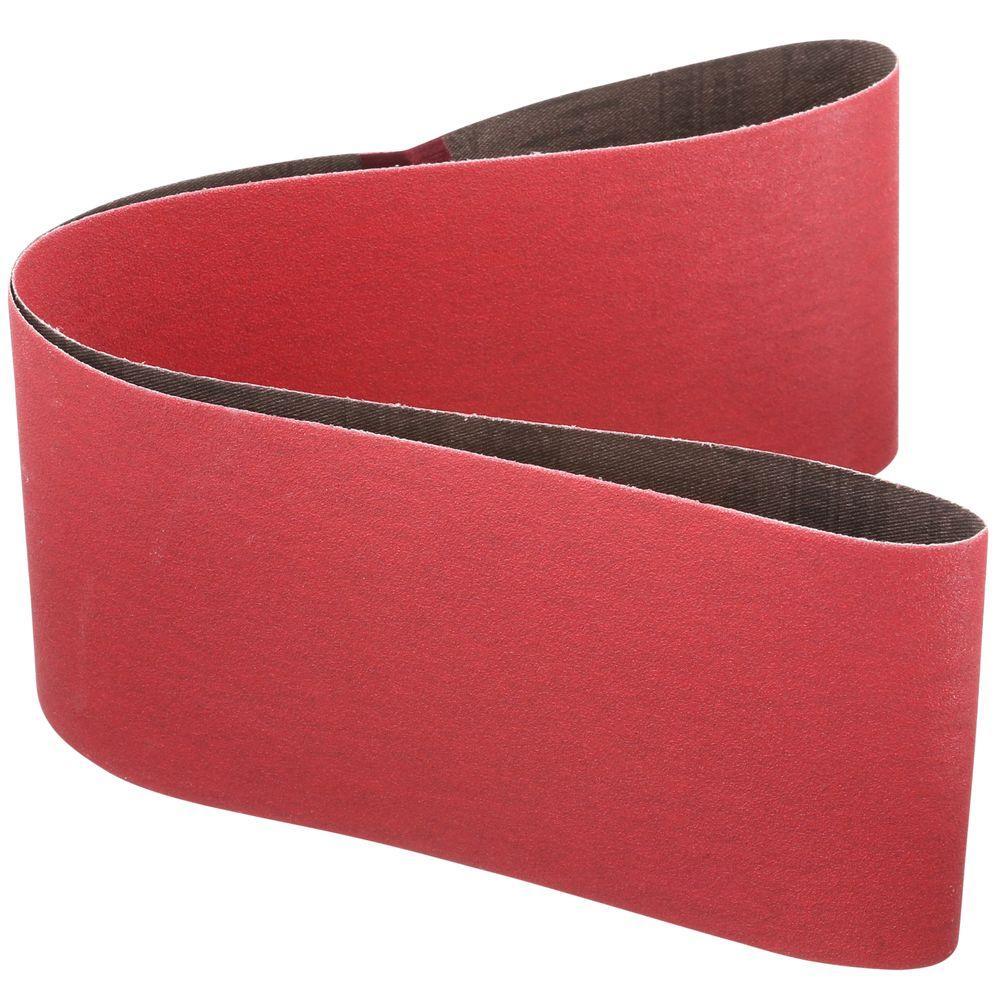 4 in. x 36 in. 120-Grit Sanding Belt