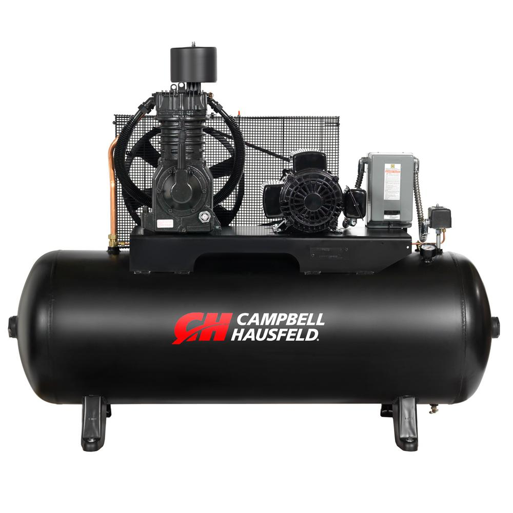 80 gal. 3-Phase Electric Air Compressor