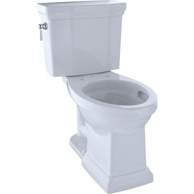 Promenade II 2-Piece 1.28 GPF Single Flush Elongated Toilet with CeFiONtect in Cotton White