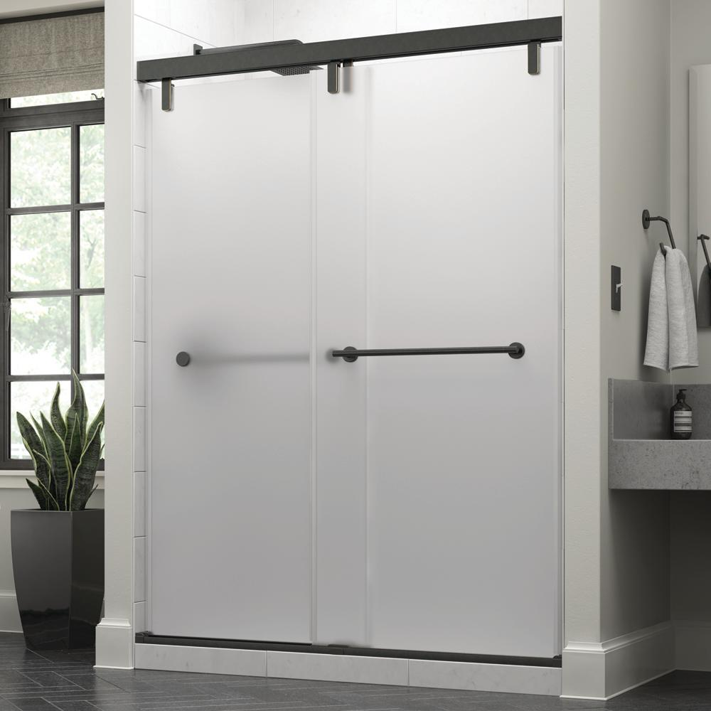 Delta Everly 60 X 71 1 2 In Frameless Mod Soft Close