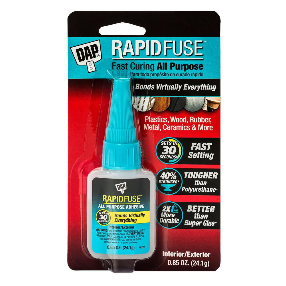 DAP RapidFuse 0.85 oz. Clear All-Purpose Adhesive