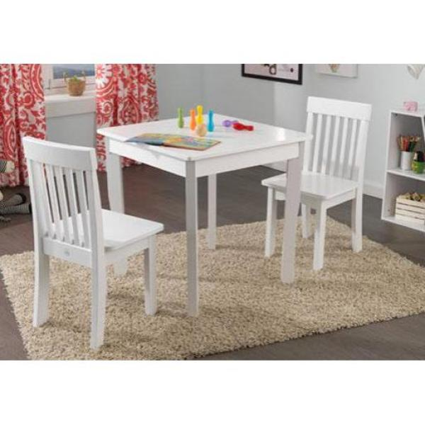 Prime International Concepts 3 Piece White Childrens Table And Ocoug Best Dining Table And Chair Ideas Images Ocougorg