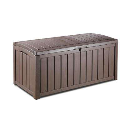 Glenwood 101 Gal. Deck Box in Brown