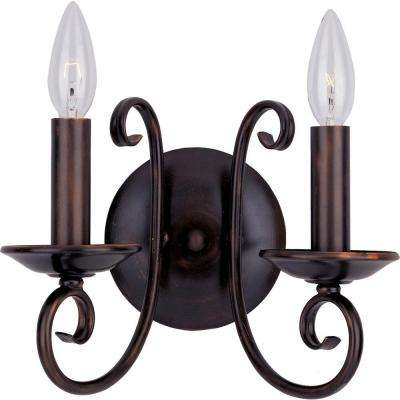 Loft 2-Light Oil-Rubbed Bronze Sconce