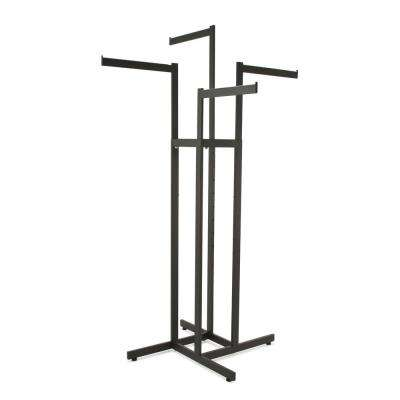 Matte Metal Clothes Rack (34 in. W x 72 in. H)