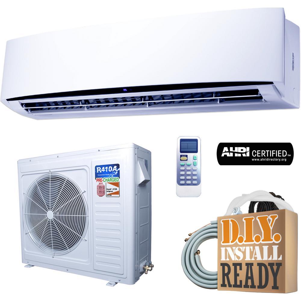 Super Efficiency GWi Series 33,000 BTU 2.75 Ton Inverter Ductless Mini Split Air Conditioner and Heat Pump - 230V/60Hz