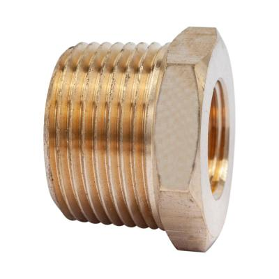 1 in. MIP x 1/2 in. FIP Brass Pipe Hex Bushing Fitting (3-Pack)