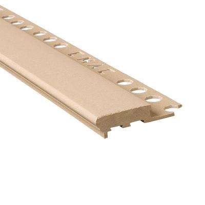 Novopeldano Maxi Stone 1/2 in. x 98-1/2 in. Composite Tile Edging Trim
