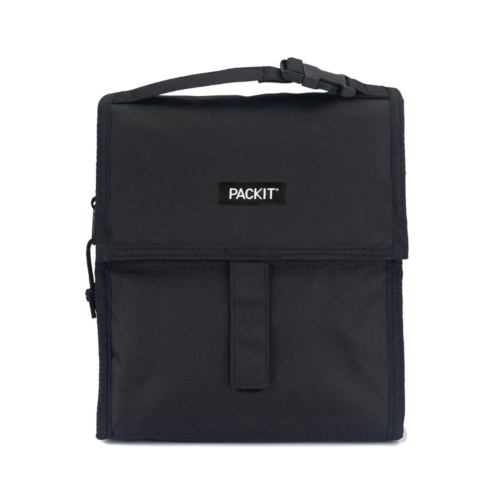 Black Freezable Lunch Bag