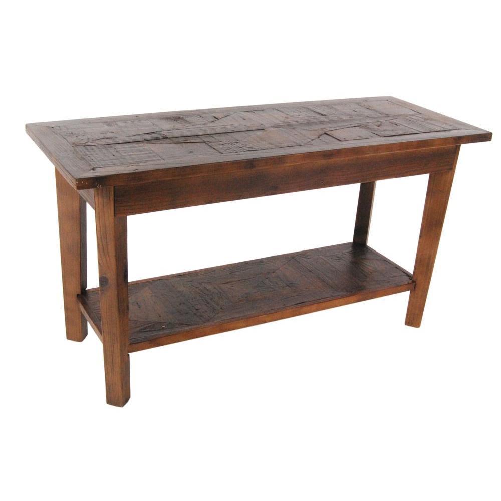 Alaterre Furniture Revive Natural Oak Storage Bench ARVA0320