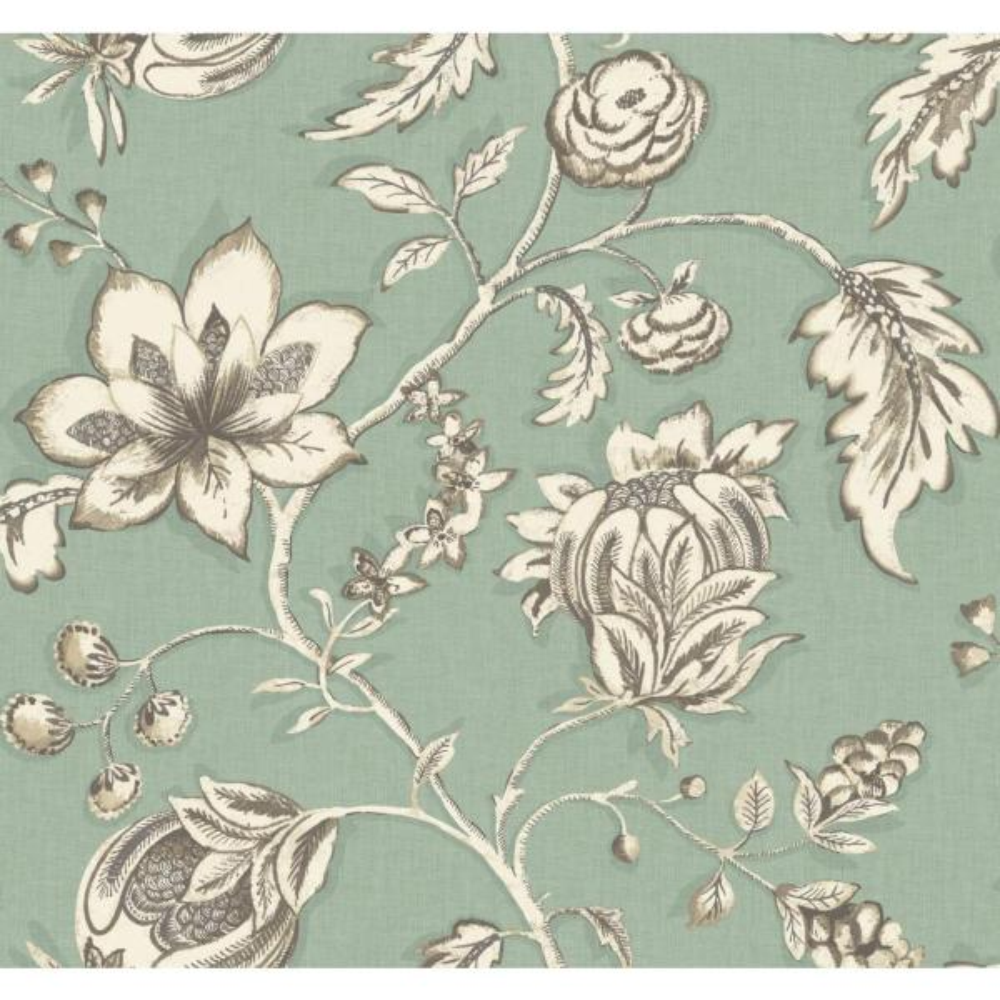 York Wallcoverings Modern Shapes Jardin Wallpaper MS6449