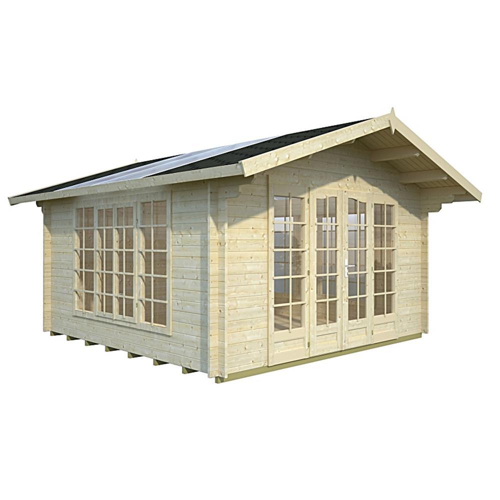 150 sq. ft. Allwood Summer Light Kit Cabin