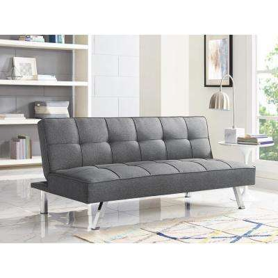 Chester Grey Convertible Sofa