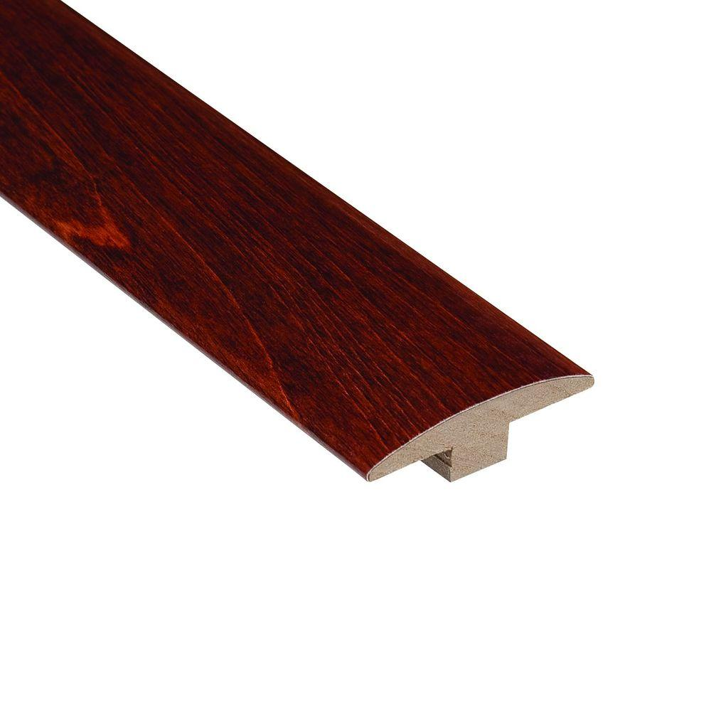 Home Legend High Gloss Birch Cherry 3/8 in. Thick x 2 in. Wide x 78 ...