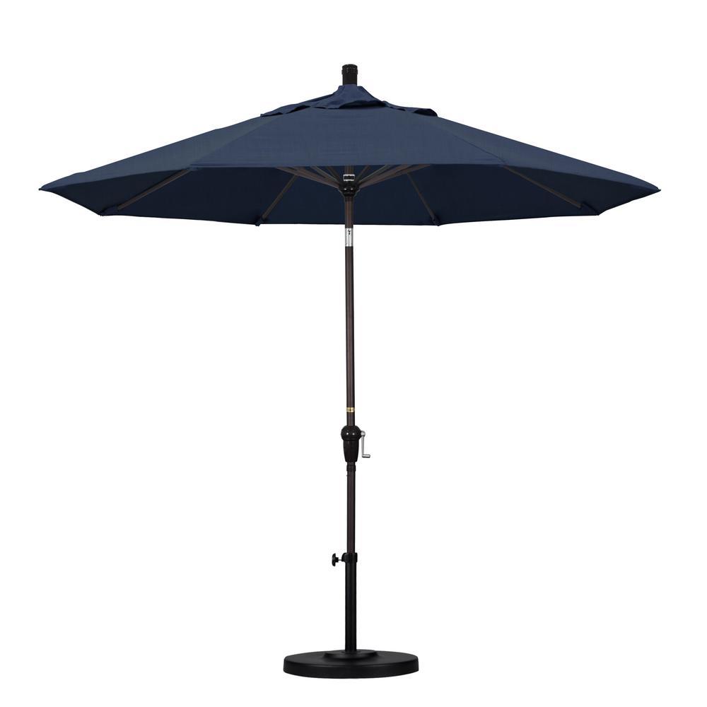 Patio Umbrella Bronze Aluminum Pole