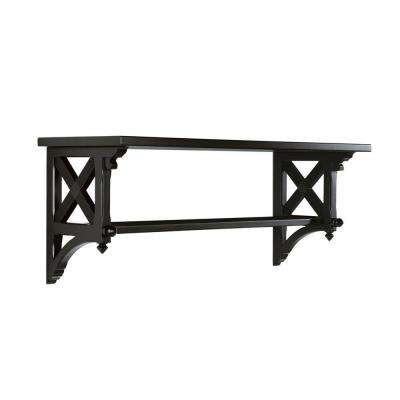 14.25 in. W Large Silhouette Country Double Shelf