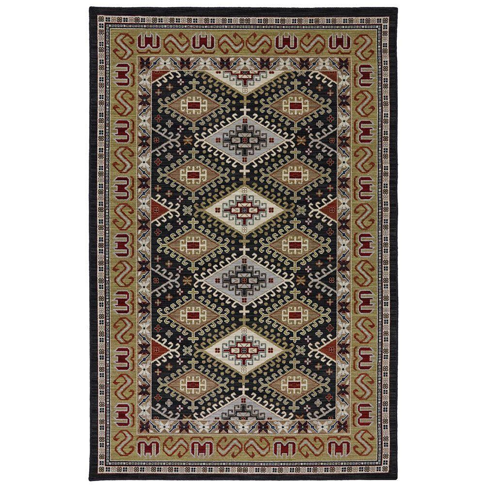 Karastan Addison Black 8 ft. 6 in. x 11 ft. 6 in. Area Rug