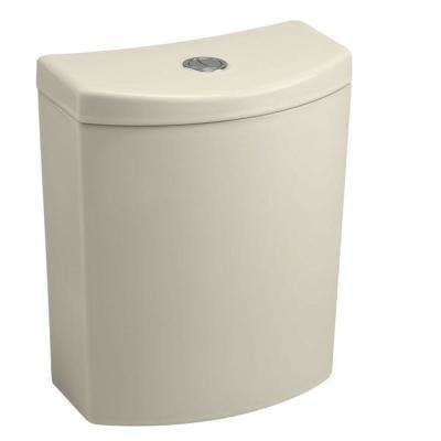 Persuade Curve 1.0 or 1.6 GPF Dual Flush Toilet Tank Only in Almond
