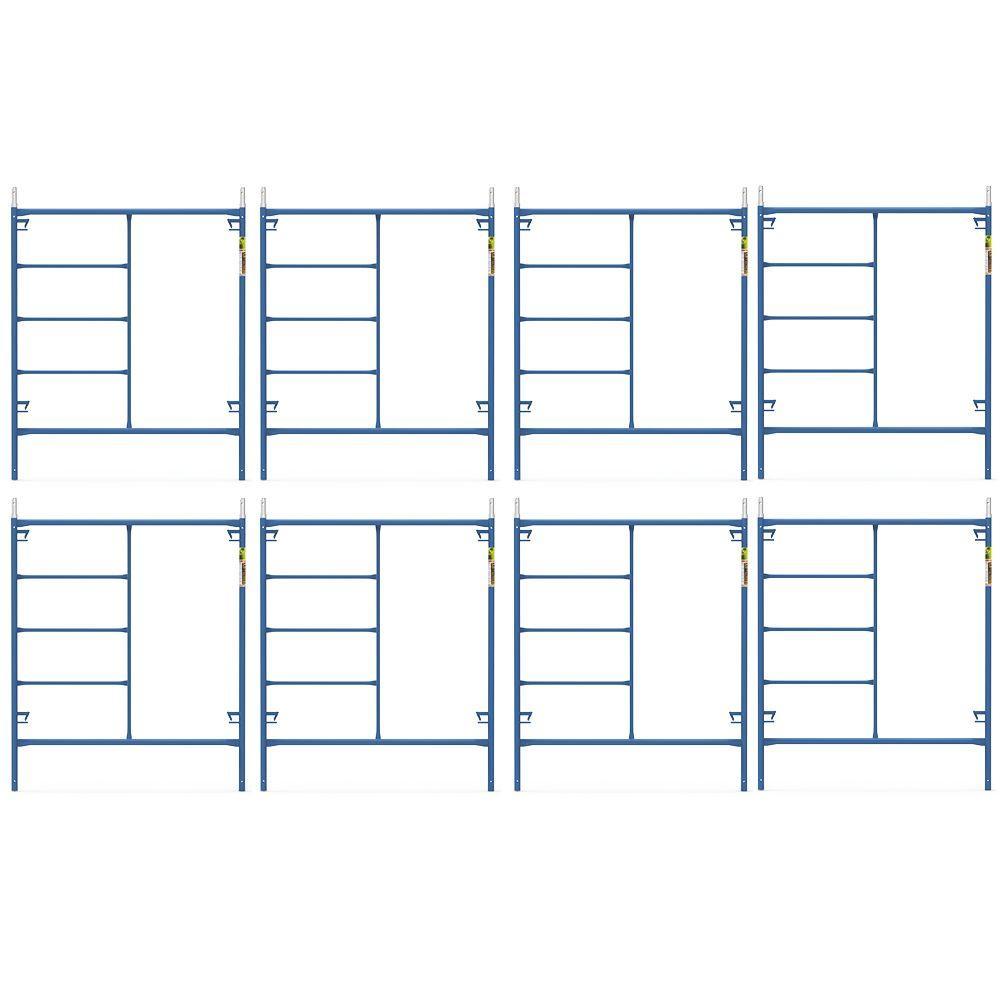 Saferstack 6 ft. x 5 ft. Mason Scaffold Frame (8-Pack)