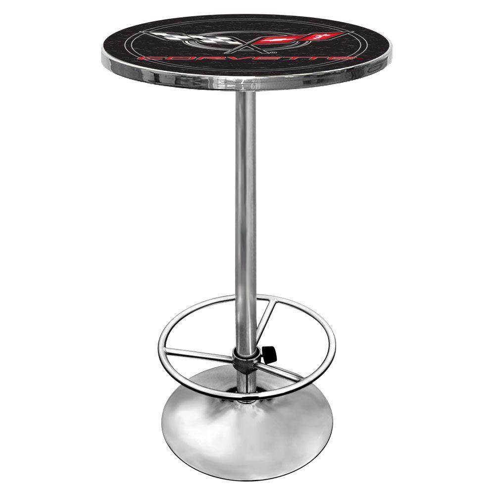 Corvette C5 Chrome Pub/Bar Table