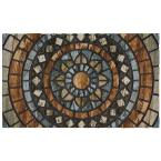 Circles 18 in. x 30 in. Door Mat