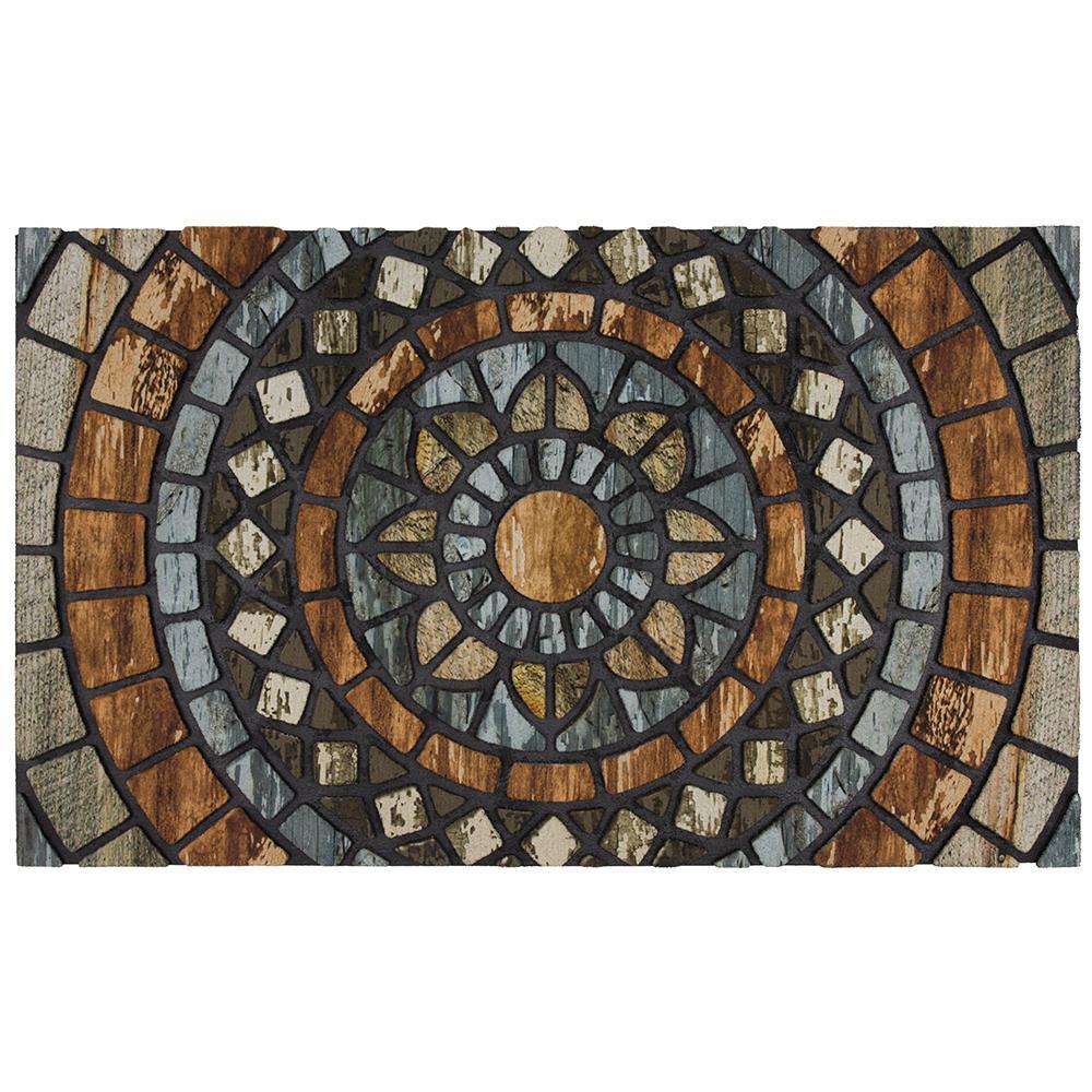 Circles 18 in. x 30 in. Door Mat