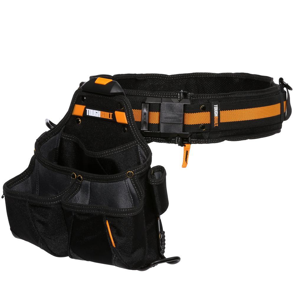 Pro Framer Tool Belt Set, Black (3-Piece)
