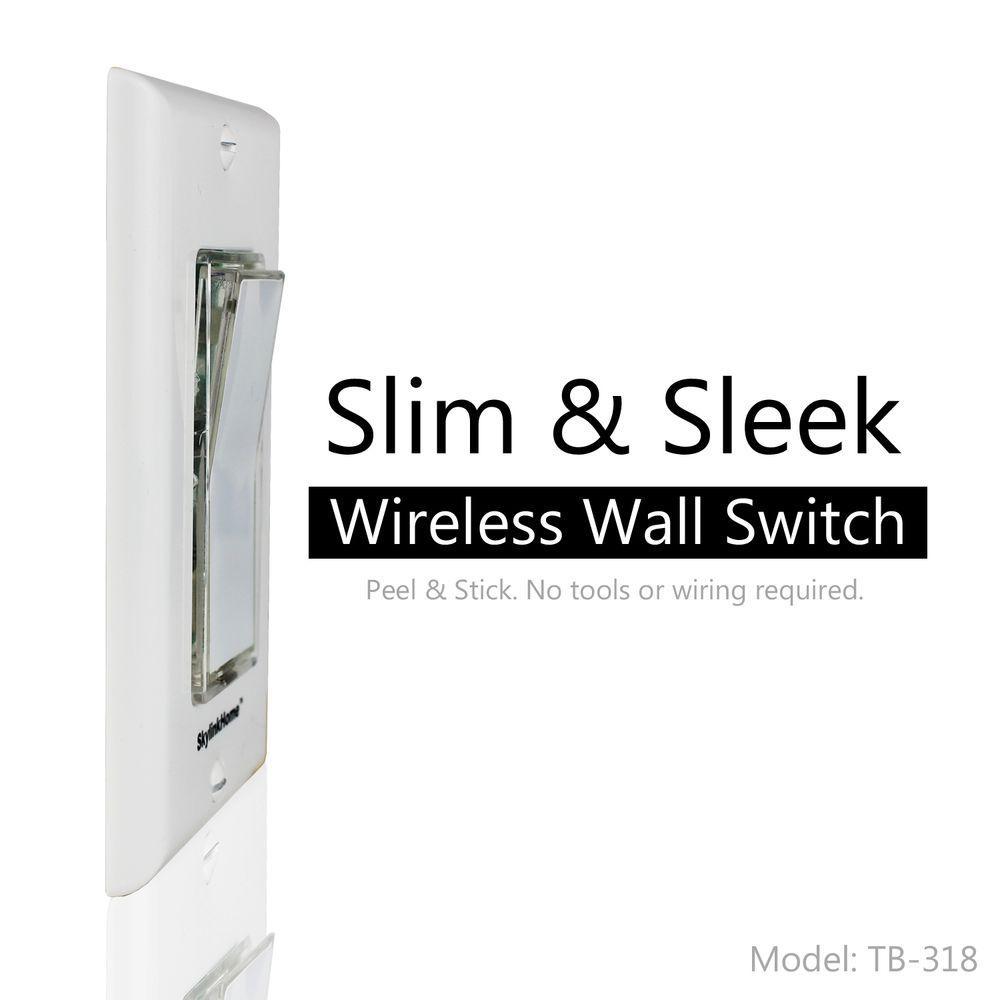 SkyLink TB-318 Wireless Wall Mounted Light Switch Transmitter for Skylink on