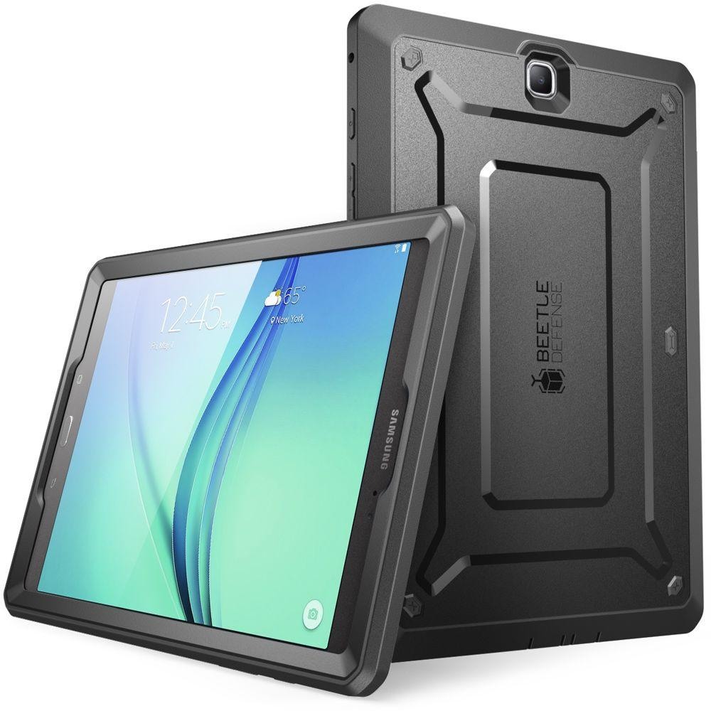 new styles cbd38 9a745 SUPCASE Galaxy Tab A 9.7 Unicorn Beetle Pro Full Body Case with Screen  Protector, Black